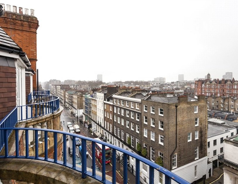 Penthouse for sale in Bickenhall Street view9