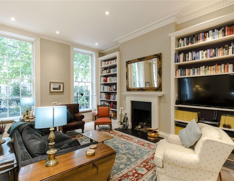 Duplex sold subject to contract in Montagu  Square view4