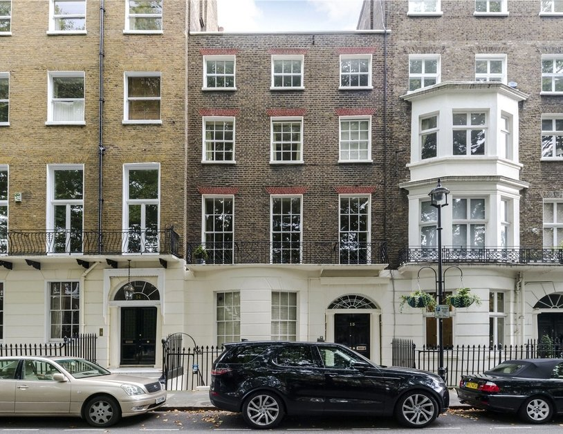 Duplex sold subject to contract in Montagu  Square view3