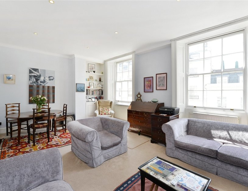 Apartment sold subject to contract in Stanhope Place view1