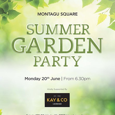 News montagu square garden kayandco